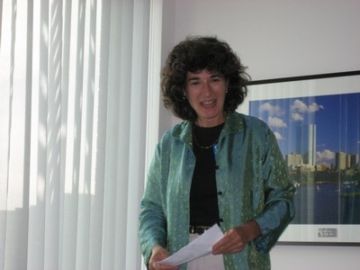 Nancy, a former Acting Executive Director, now with MA DEP
